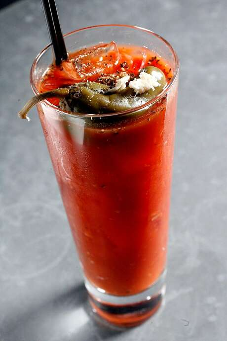 Is a Bloody Mary better in flight? Photo: KATY RADDATZ, SFC
