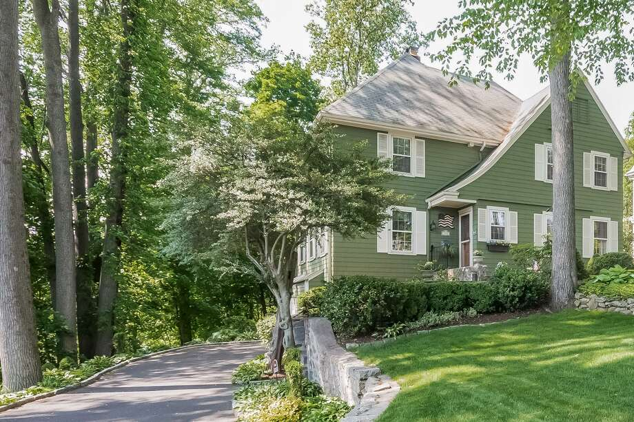 This updated vintage colonial house at 454 Toilsome Hill Road is in the Stratfield neighborhood.