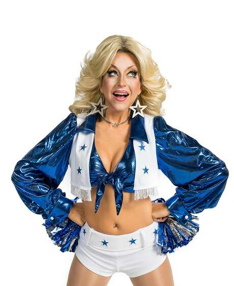"""Nancy French as Debbie in """"Debbie Does Dallas"""" at Oasis. Photo: Zac Wollons, Oasis"""