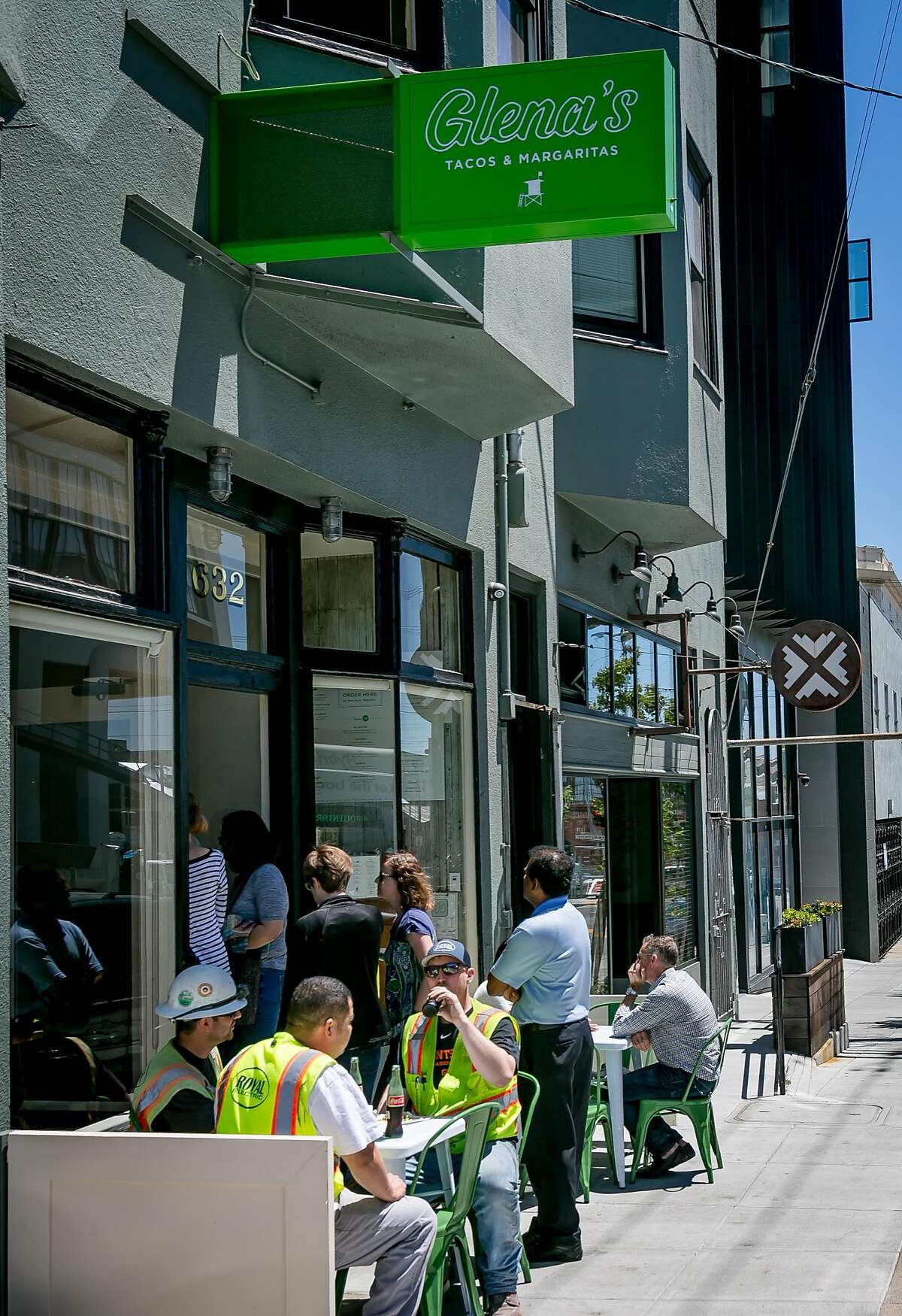 The exterior of Glena's in San Francisco, Calif. is seen on June 23rd, 2017.
