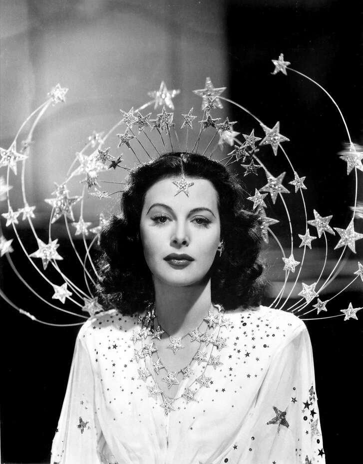 Subject/Actress Hedy Lamarr in a photo from BOMBSHELL: THE HEDY LAMARR STORY, directed by Alexandra Dean.  Screening at the 37th San Francisco Jewish Film Festival on Wednesday, July 26th at 6:10PM at CineArts in Palo Alto; Sunday, July 30th at 8PM at Castro Theatre in San Francisco; Saturday, August 5th at 4:45PM at Landmark Albany Twin in Albany; Sunday, August 6th at 4:15PM at Christopher B. Smith Rafael Film Center in San Rafael.  Photo: Courtesy Jewish Film Institute