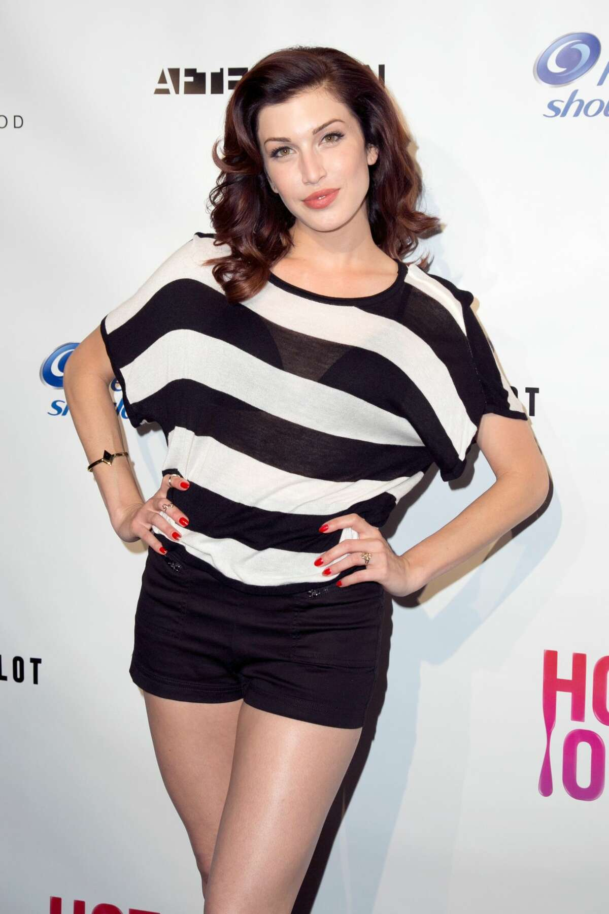 HOLLYWOOD, CA - JUNE 25: Actress Stevie Ryan arrives at Logo's