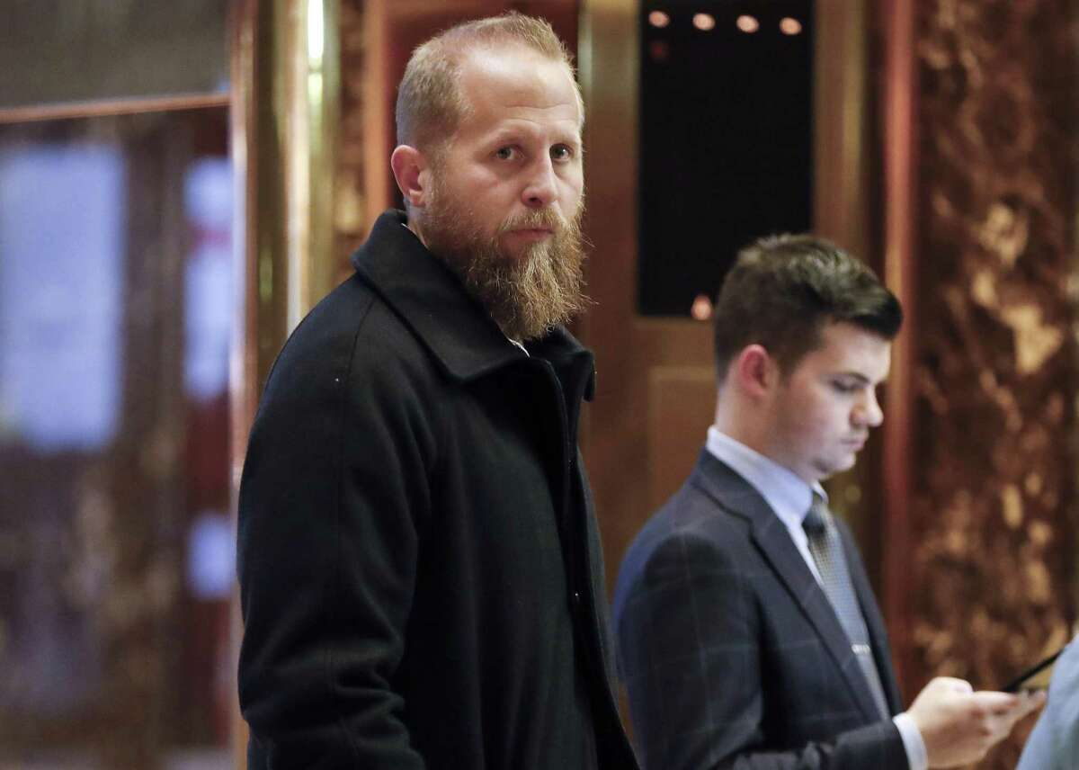 Brad Parscale, who was the Trump campaign's digital director, waits for an elevator at Trump Tower, Tuesday, Nov. 15, 2016, in New York. (AP Photo/Carolyn Kaster)
