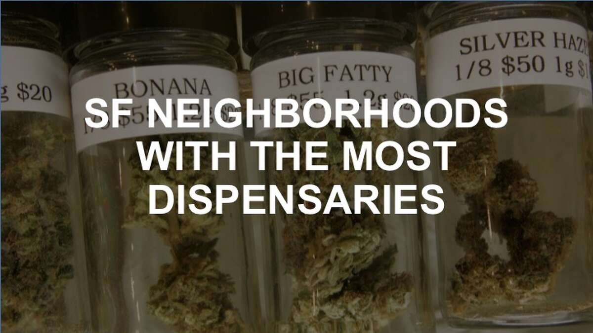 Can you guess which Bay Area neighborhood has the highest number of dispensaries?
