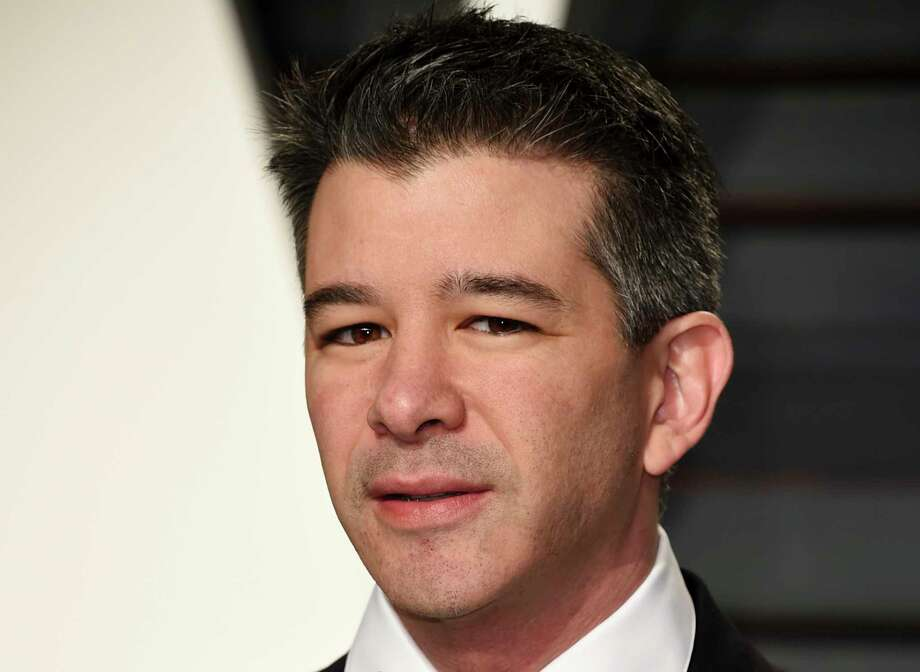 FILE - In this Sunday, Feb. 26, 2017, file photo, Uber CEO Travis Kalanick arrives at the Vanity Fair Oscar Party in Beverly Hills, Calif. Reports of sexism in Silicon Valley are not new, as the male-dominated tech and venture capital industry has often downplayed or turned a blind eye to issues of discrimination and worse. So what's prompting more women to speak out? Credit Susan Fowler, a former Uber engineer who outlined a culture of harassment at the company. Uber CEO Travis Kalanick resigned in the aftermath, and the company has promised to institute broad changes. (Photo by Evan Agostini/Invision/AP, File) Photo: Evan Agostini, INVL / 2017 Invision