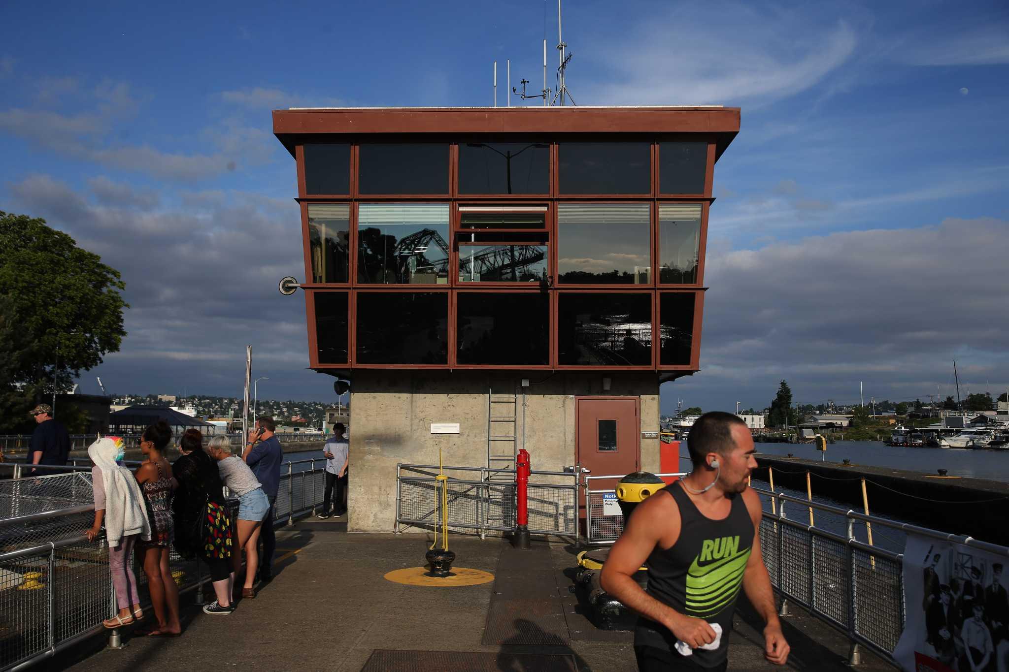 Pedestrian bridges at Ballard Locks set to reopen this month