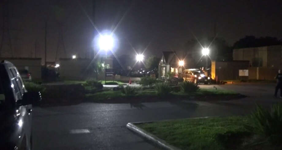 One woman was hospitalized after a robbery on Chimney Rock late Monday night. Photo: Metro Video