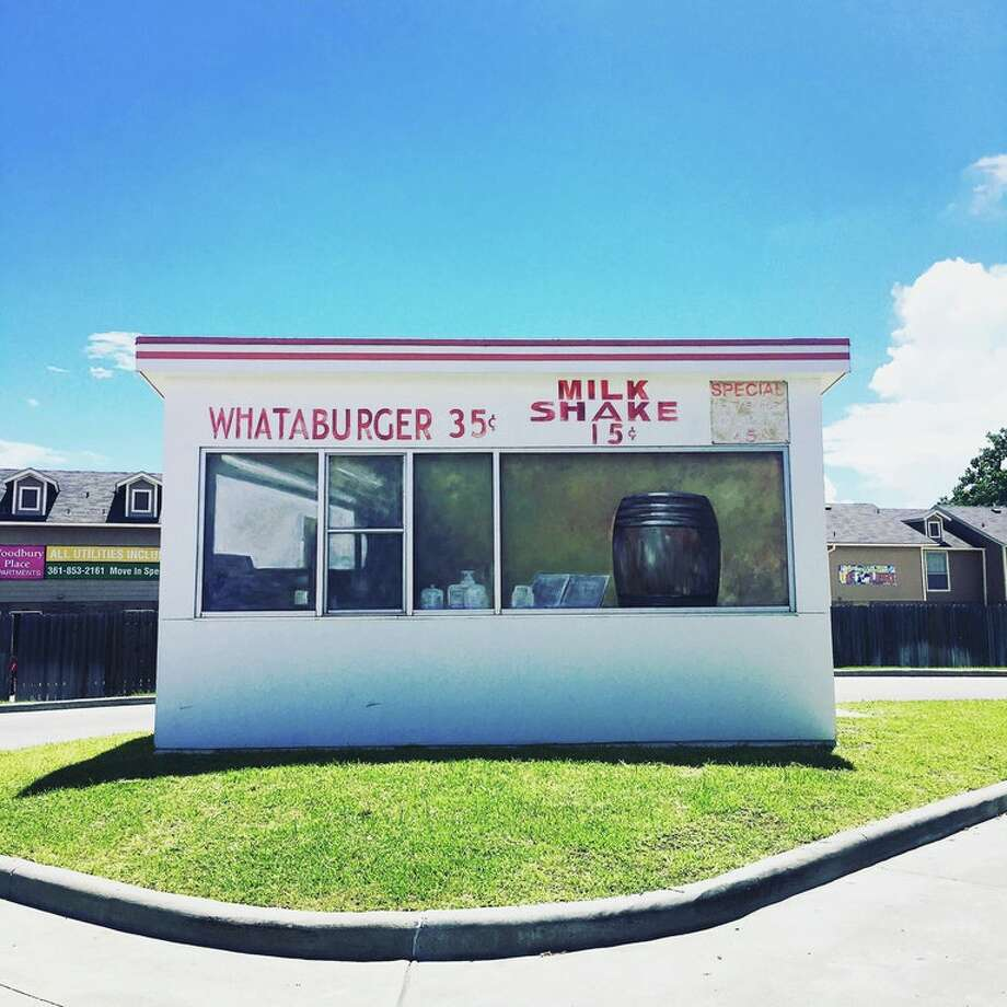 Model of the first Whataburger store can be admired in Corpus Christi, home to the adored burger chain. Photo: Courtesy Jonathan Enriquez