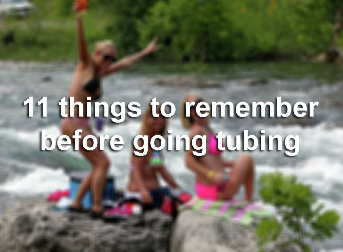 New Braunfels authorities enforce a number of safety regulations for tubers on the river.