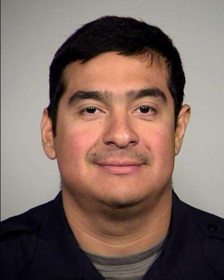 San Antonio Officer Julio Cavazos has been released from the hospital. He was injured in a downtown shootout nearly a week ago. Photo: Courtesy Photo