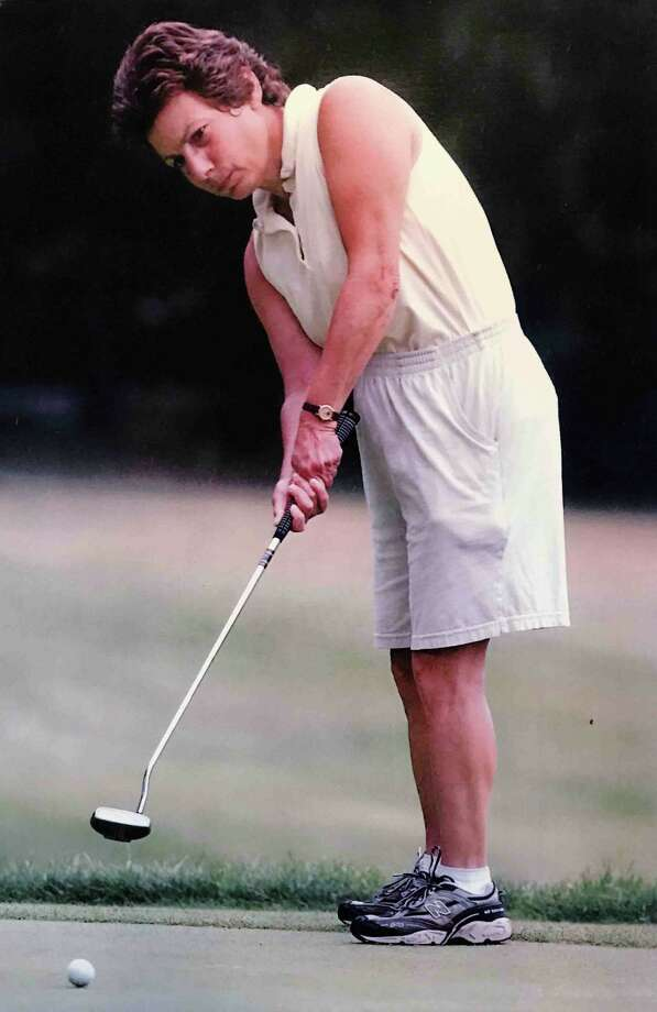 Leslie Arakelian won the Country Club of Troy's Invitational three times with three different partners: 1998 with Sue Ungerer; 2006 with Linda Kolnick; 2008 with Karen Feldman Photo: Country Club Of Troy
