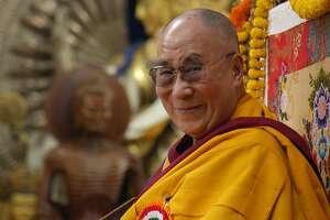 """The 14th Dalai Lama as seen in Mickey Lemle's documentary """"The Last Dalai Lama?"""""""