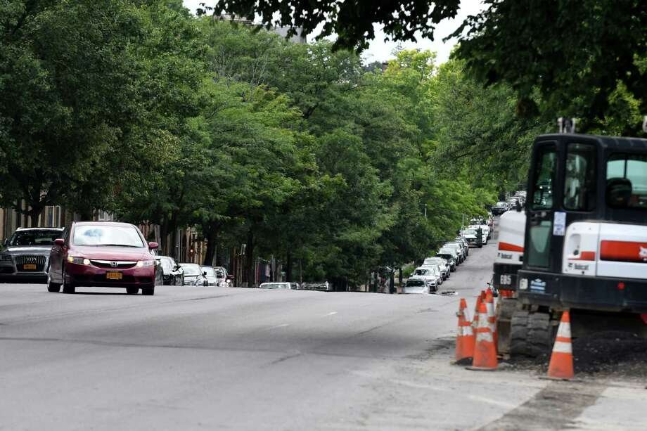 View looking down Madison Avenue from Willett St. on Tuesday, July 4, 2017, in Albany, N.Y. (Will Waldron/Times Union) Photo: Will Waldron / 20040973A