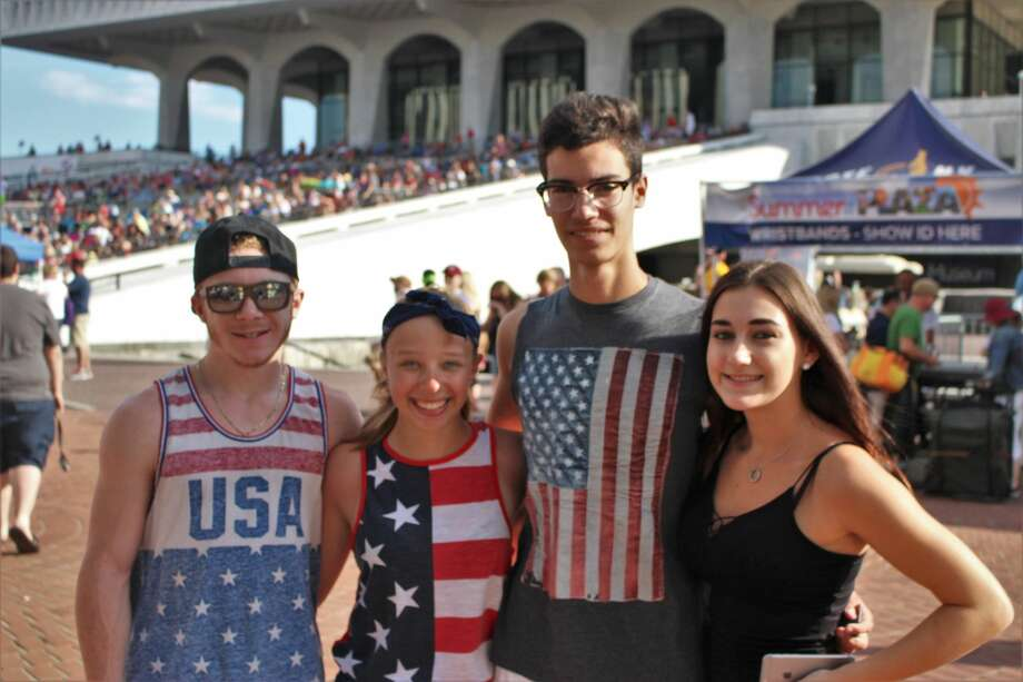 Were you Seen at the New York State's Fourth of July Celebration presented by Price Chopper and Market 32 at the Empire State Plaza in Albany on Tuesday, July 4, 2016? Photo: Rezart Bushati