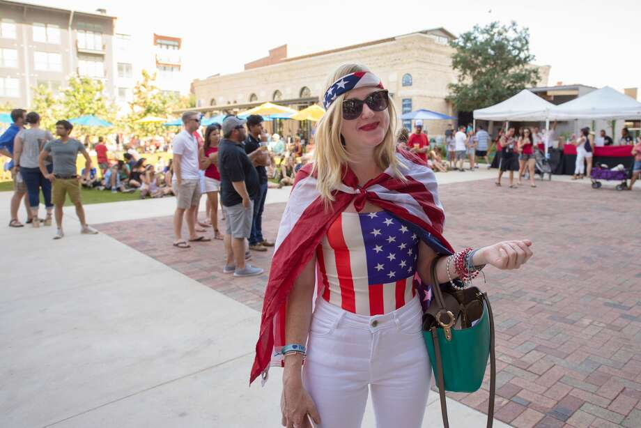 The Pearl park was filled with live music, brews, American flags, four-legged revelers and more at the Red, White & Blues celebration on July 4, 2017. Photo: Kody Melton, For MySA.com