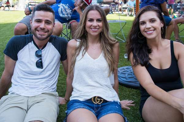 The Pearl park was filled with live music, brews, American flags, four-legged revelers and more at the Red, White & Blues celebration on July 4, 2017.