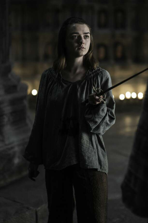 "Maisie Williams as Arya Stark in HBO's ""Game of Thrones."" Photo: Courtesy HBO"