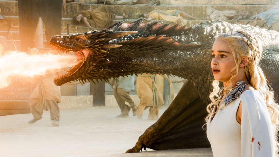 "Emilia Clarke as Daenerys Targaryen in HBO's ""Game of Thrones."" Photo: Courtesy HBO"