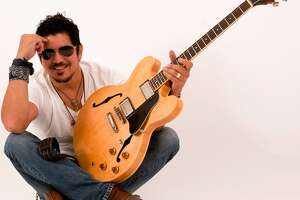 San Antonio guitarist and band leader Ruben V is playing the Balcones Heights Jazz Festival for the first time
