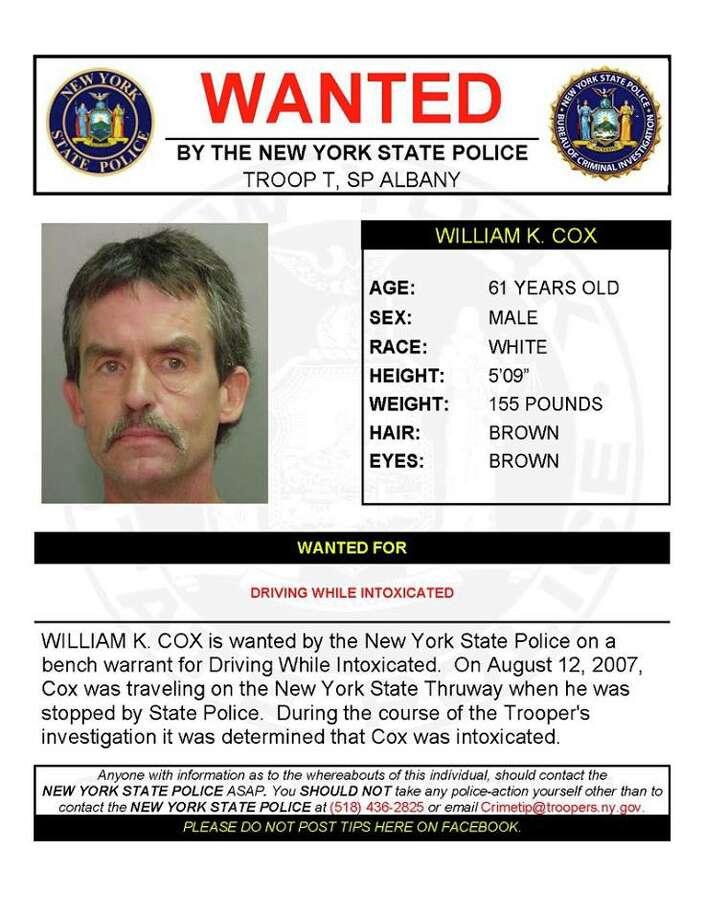 William Cox Photo: NY State Police
