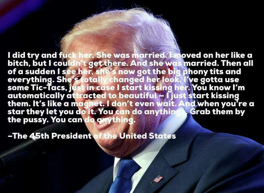 The ever-quotable, eternally classy President of the United States Photo: Mark Morford