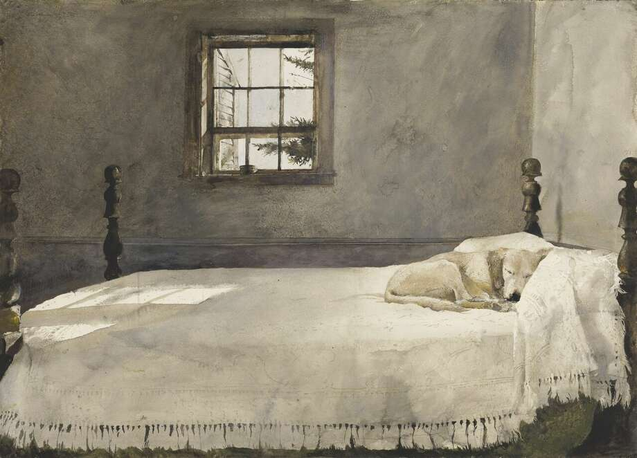 """Master Bedroom"" by Andrew Wyeth"