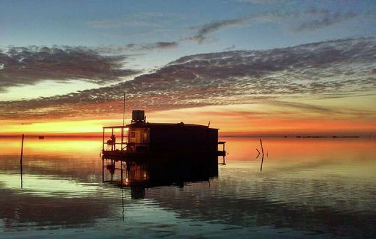 Laguna Adventures in Corpus Christi has four floating cabins to choose from starting at $300 per night.