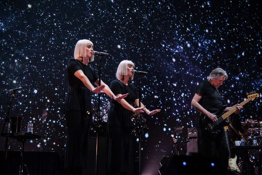 DENVER - JUNE 3: Roger Waters brought his newest tour to the Pepsi Center in Denver, CO. on June 3, 2017. SingersJess Wolfe and Holly Laessig from indie pop band Lucius performed with him.(Photo by Larry Hulst/Michael Ochs Archives/Getty Images) Photo: Larry Hulst, Contributor / 2017  Larry Hulst
