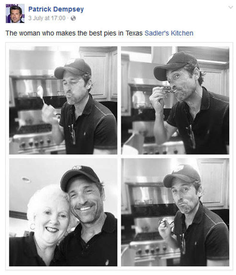 Actor Patrick Dempsey Shares Love For Small East Texas Pie Maker