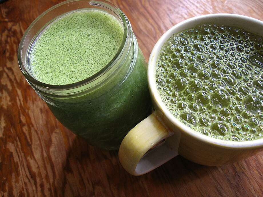 Super powders like matcha, maca root and cacao will pop up in a drink near you in 2018. Photo: Mike Sutter, San Antonio Express-News
