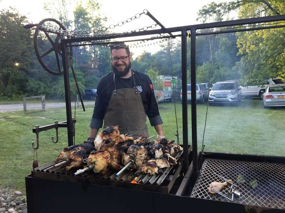 Brandon Snooks, formerly of the Wandering Dago food truck, now runs Hudson Valley BBQ Co.
