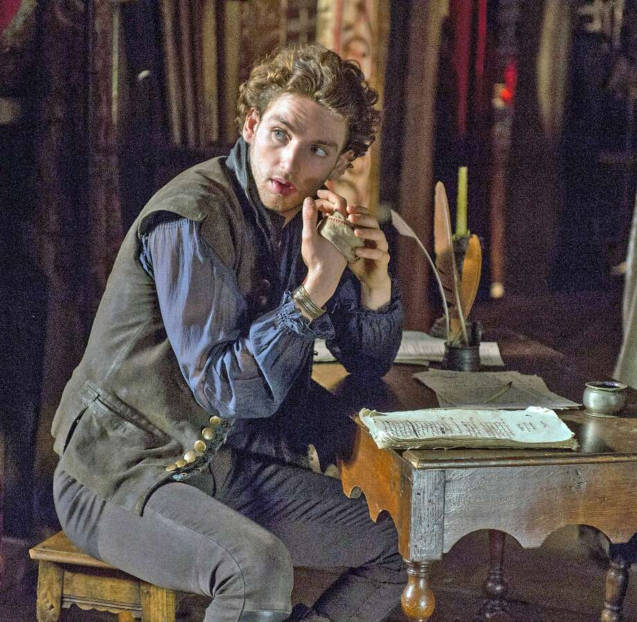 """Laurie Davidson was still in drama school when he landed the role of William Shakespeare in TNT's """"Wiill,"""" premiering next Monday. (Alex Bailey/TNS) Photo: Alex Bailey, TNS"""