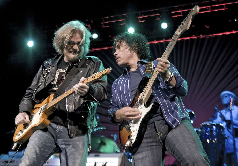Daryl Hall (L) and John Oates perform at the 2011 Bumbershoot Festival on September 5, 2011 in Seattle, Washington.  (Photo by Timothy Hiatt/Getty Images) Photo: Timothy Hiatt, Getty Images