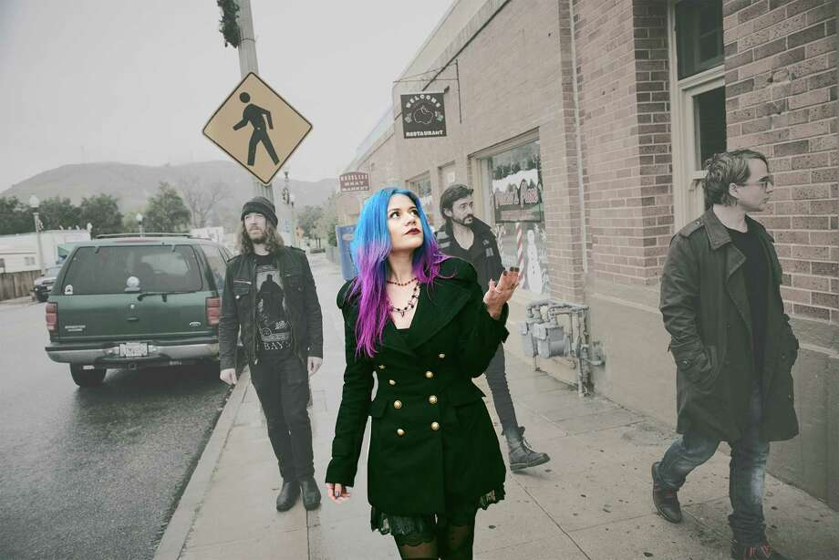 Allison Iraheta and Halo Circus. Photo: Courtesy