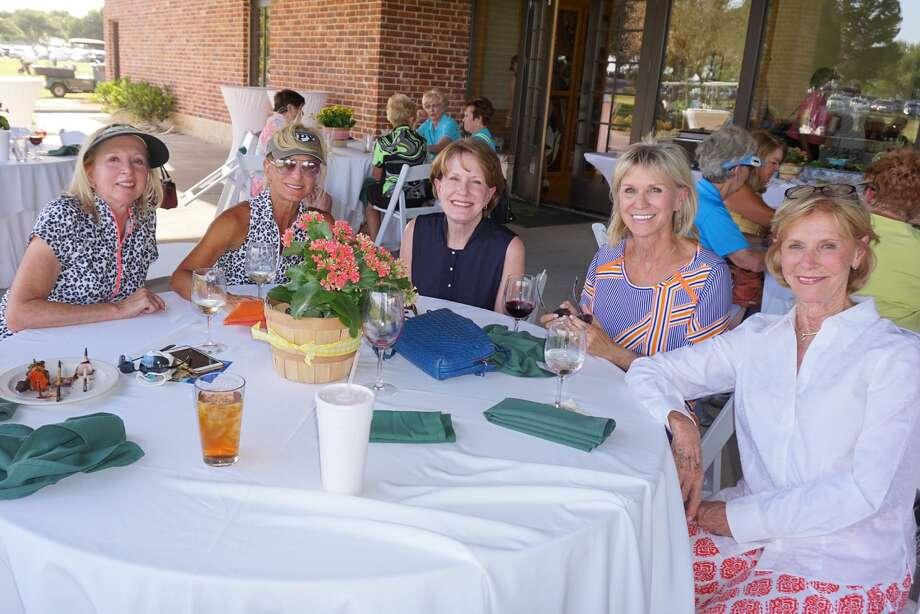 Judy Rankin Invitational: Susan Ohlenburg, from left, Ginny Bailey, Pam Dyer, Karen O'Brien and Judy Rankin Photo: Courtesy Photo