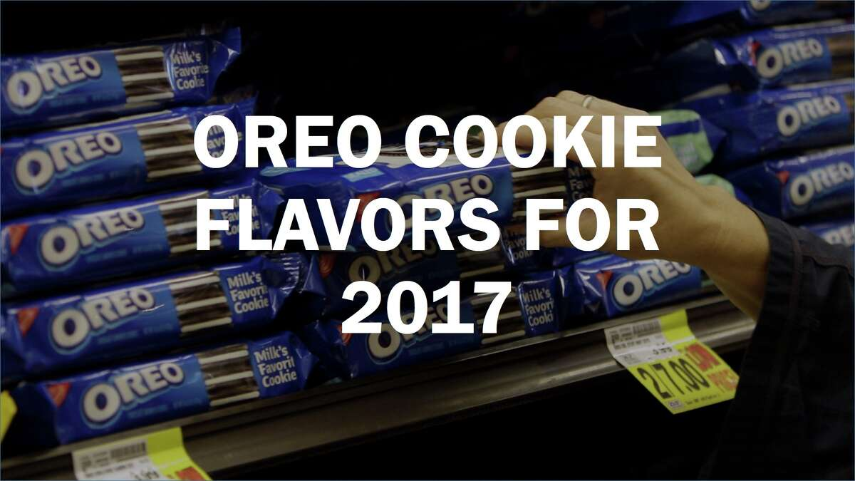 Click ahead to see the latest Oreo flavors for 2017.