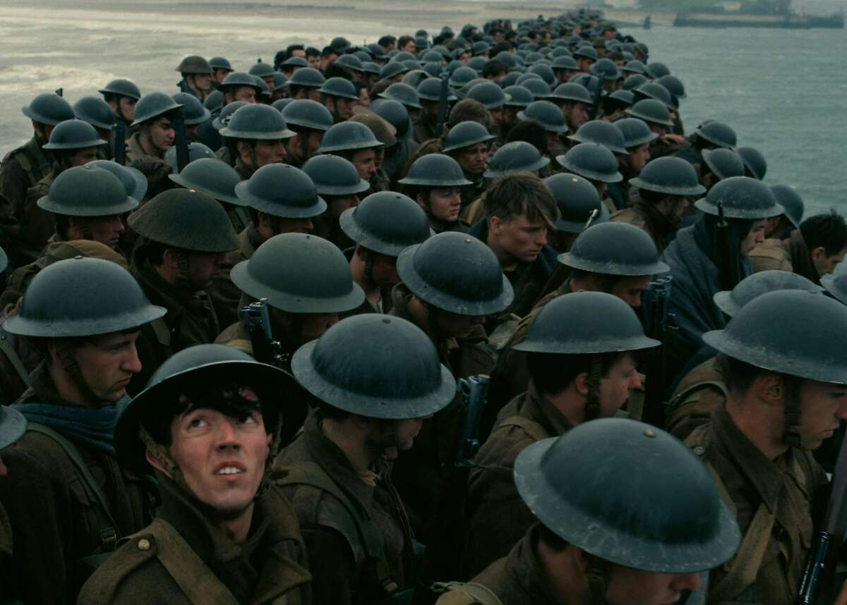 """The big picture Christopher Nolan's World War II-survival tale, """"Dunkirk"""" is shot entirely in large format, including an unprecedented 70 percent of it in IMAX. The result is a mix of the epic and the intimate. Photo Courtesy Warner Bros. Entertainment"""