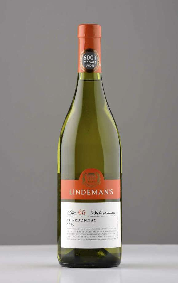 Lindeman's Bin:65 Chardonnay 2015 on Wednesday, March 8, 2017, at the Times Union in Colonie, N.Y. (Will Waldron/Times Union) Photo: Will Waldron