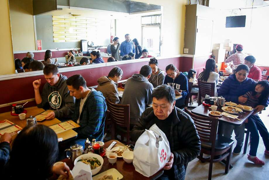 People eat lunch at the House of Pancakes on Taraval Street in San Francisco. Photo: Nicole Boliaux, The Chronicle