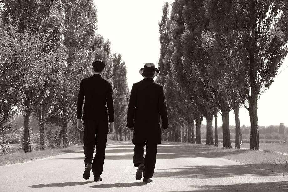 """In the Hungarian drama """"1945,"""" the arrival of two mysterious Jewish men forces the people of a village to re-evaluate their actions during the war. Photo: SF Jewish Film Festival"""