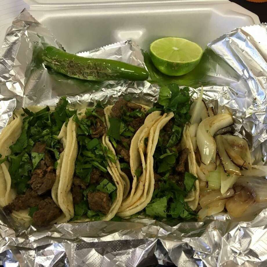 The Kingwood Meat Market at 4003 Rustic Woods Dr., is known for their tacos served on their home-made tortillas.
