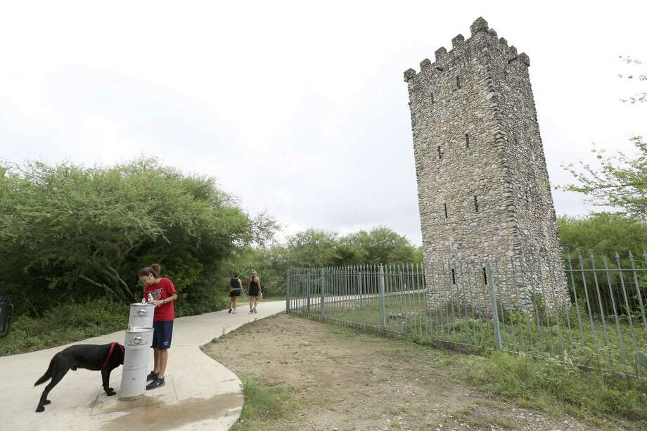 The tower at Comanche Lookout Park stands among 4.55 miles of paved and natural trails, perfect for hiking, jogging or just walking the dog. Photo: William Luther /San Antonio Express-News / © 2017 San Antonio Express-News