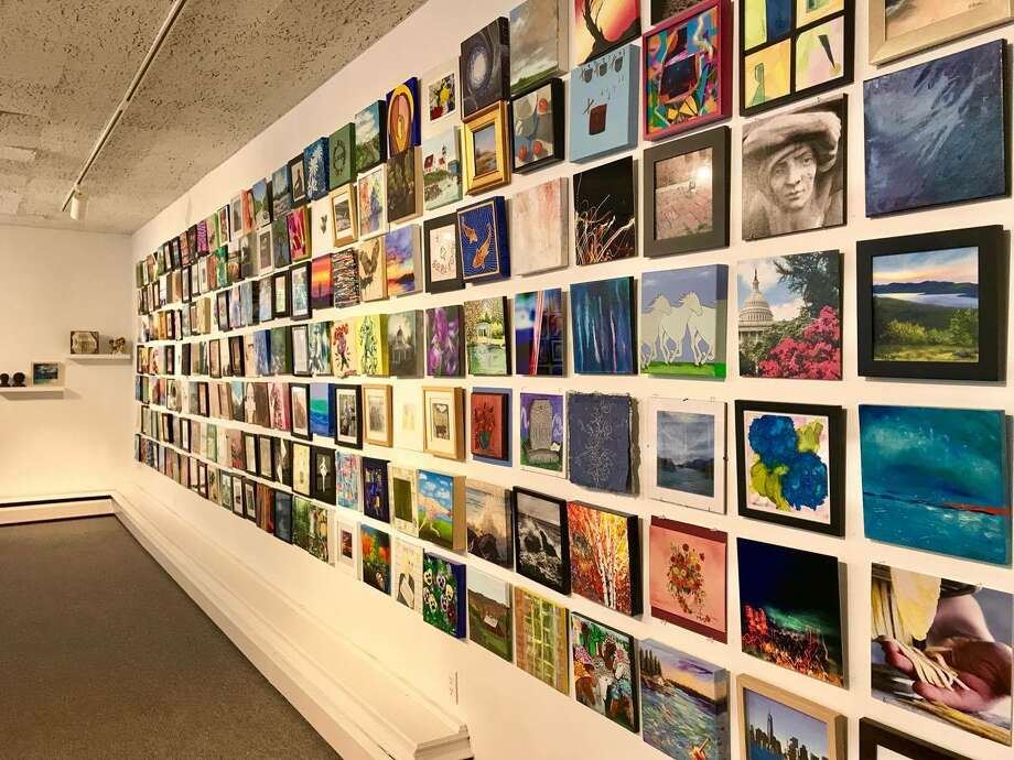 The current exhibit at Saratoga Arts, 320 Broadway. (Photo provided) ORG XMIT: TAUm4XxepNp6M9EuKDPL