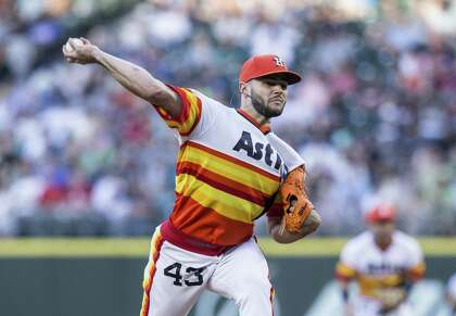 newest cd7ba 58415 Astros' uniform tradition unlike any other in baseball ...