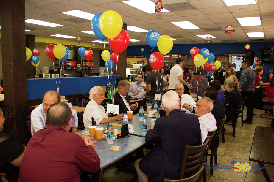 Taco Palenque celebrated its 30th anniversary on Saturday, July 1, 2017 at its location on San Bernardo Avenue. Photo: Courtesy