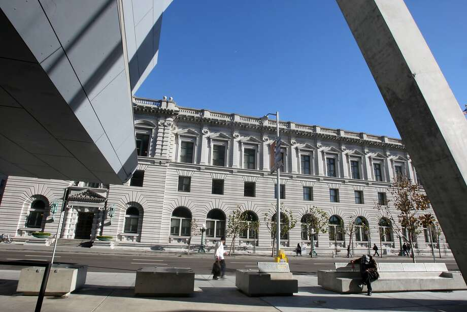 The U.S. Court of Appeals building at Seventh and Mission streets in San Francisco. Photo: Liz Hafalia, The Chronicle
