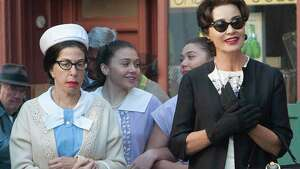 Jackie Hoffman and Jessica Lange, Feud: Bette and Joan | Photo Credits: Suzanne Tenner/FX