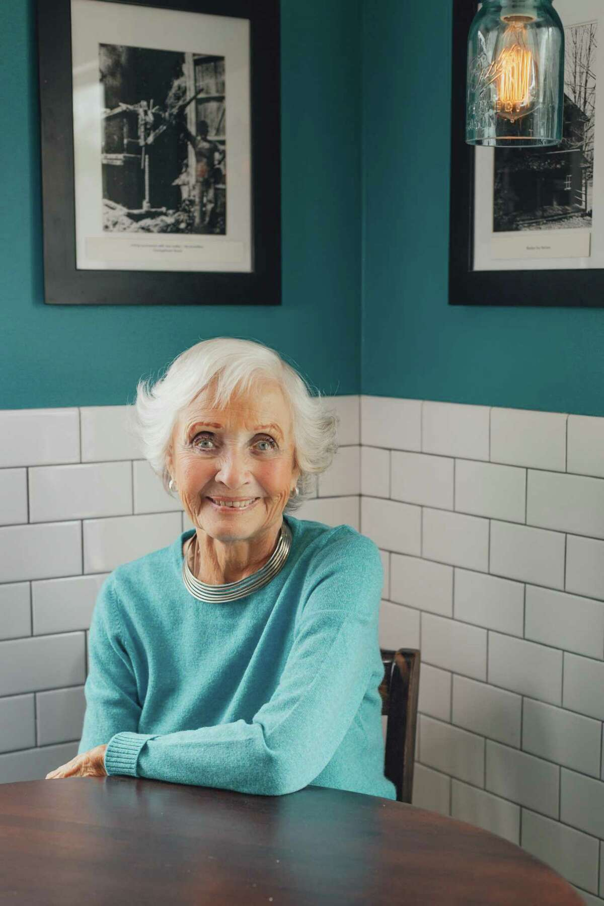Actress Jane Powell at the Lunch Box in Weston.