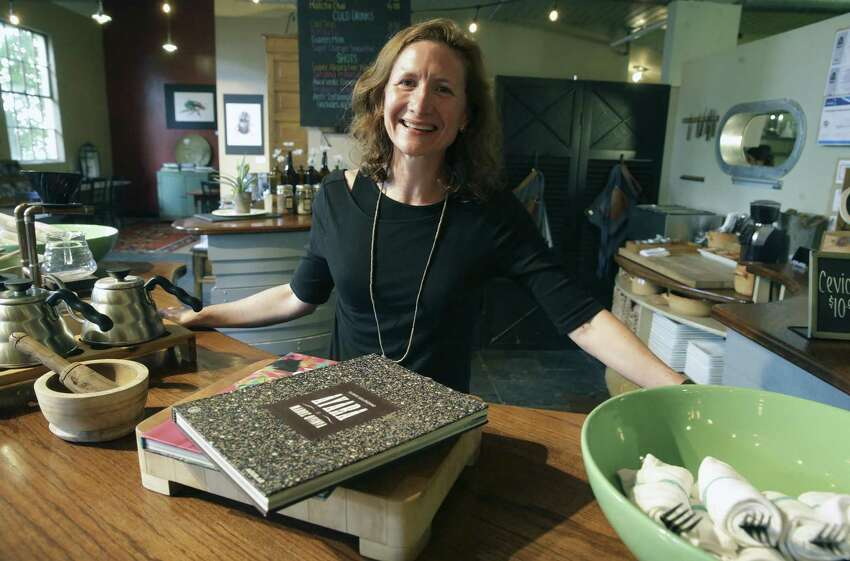 PharmTable Chef and Owner Elizabeth Johnson said the restaurant is using federal bailout money and funds from charities that pay the restaurant to feed the hungry to stay afloat.