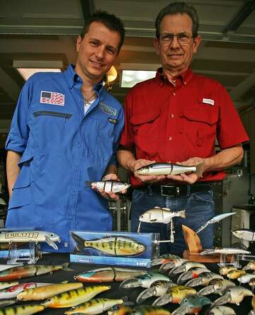 S A  father and son team up to create custom lures